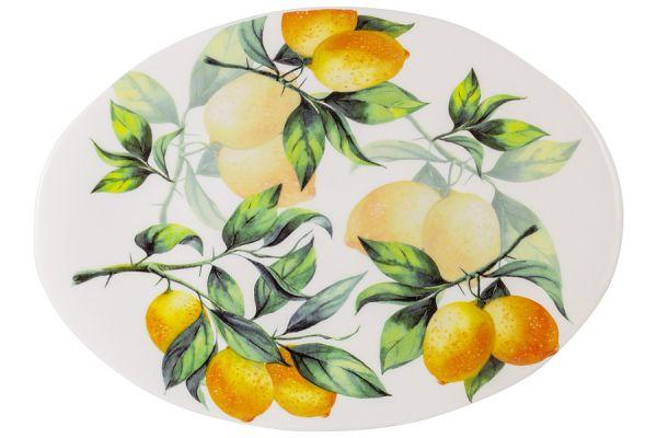 Блюдо овальное Лимоны Julia Vysotskaya JV3-OVPL38I-30031