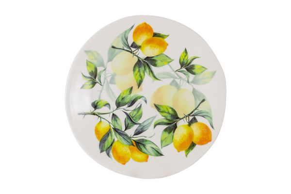 Тарелка салатная Лимоны Julia Vysotskaya JV3-SAP23I-30031