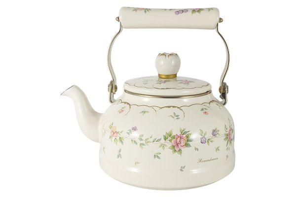 Чайник эмалированный 2,3 л Воспоминание EJIRY EJ-REM-2.3K