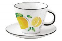 Чашка с блюдцем Amalfi Easy Life (R2S) EL-R2204_AMAL