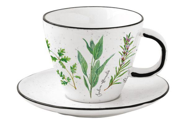 Чашка с блюдцем Herbarium Easy Life (R2S) EL-R2204_HERU