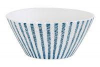 Салатник (белый с синими полосками) Бриз, средний, Easy Life (R2S) EL-R2410_BRZ1