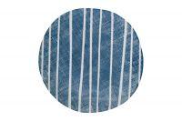 Тарелка закусочная (синий с белыми полосками) Бриз Easy Life (R2S) EL-R2402_BRZE