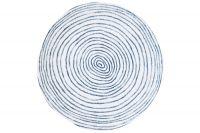 Тарелка обеденная (синий с белыми полосками) Бриз Easy Life (R2S) EL-R2400_BRZE