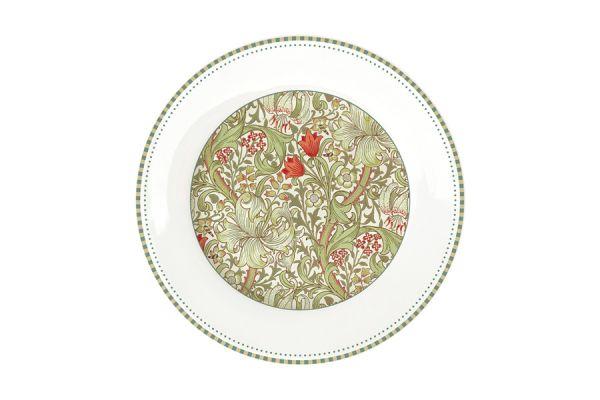 Тарелка закусочная (зелёный) Уильям Моррис Easy Life (R2S) EL-R0944_WILG