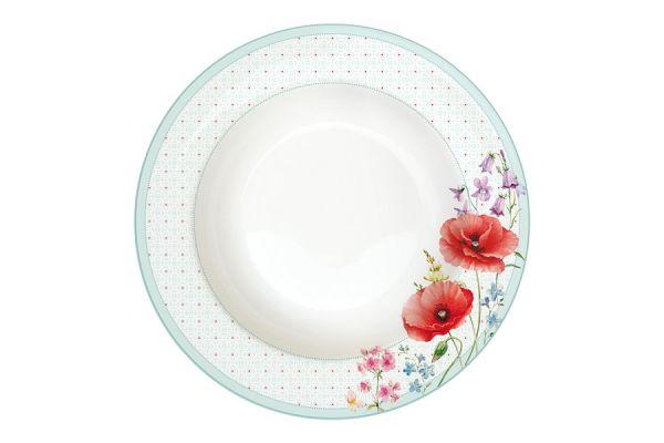 Тарелка суповая Красные маки Easy Life (R2S) EL-R0943_COQU
