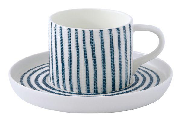 Чашка с блюдцем Бриз Easy Life EL-R2404_BRZ1
