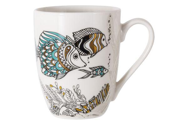 Кружка Рыбки Home&Style HS5-TC008-A17098-B