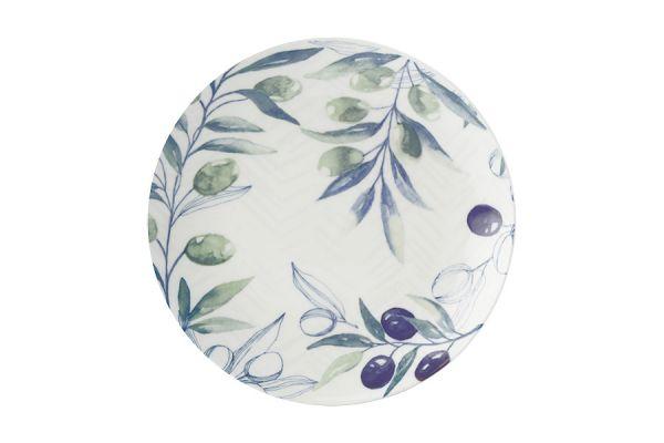 Тарелка закусочная Оливковая роща без индивидуальной упаковки CD655-AW0472