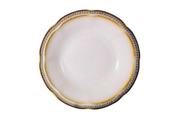 Тарелка суповая Pompeia (кремовый) без индивидуальной упаковки MC-G767200495C0280