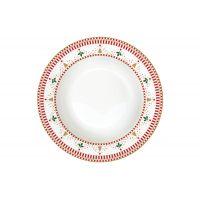 Тарелка суповая Щелкунчик без индивидуальной упаковки EL-R0943_NUTC