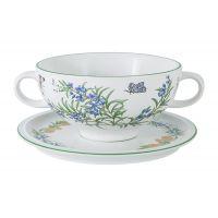 Суповая чашка на блюдце Летняя сказка в подарочной упаковке IMB0304-A144