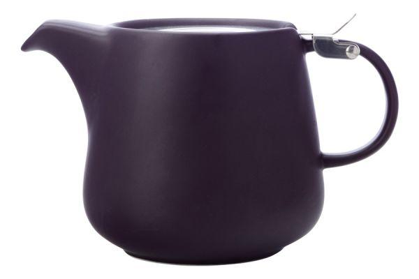 Чайник с ситечком Оттенки (баклажан) в индивидуальной упаковке MW580-AY0418