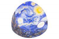 Тарелка треугольная Звездная ночь (В. Ван Гог) CAR198-7360