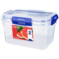 Набор контейнеров 3.35 л SISTEMA Klip It+ 2шт 881832