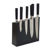 Двухсторонння магнитная подставка для ножей из дерева Woodinhome KS004SOBL