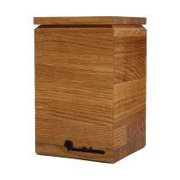 Емкость для сыпучих продуктов из массива дуба Woodinhome BP002ON