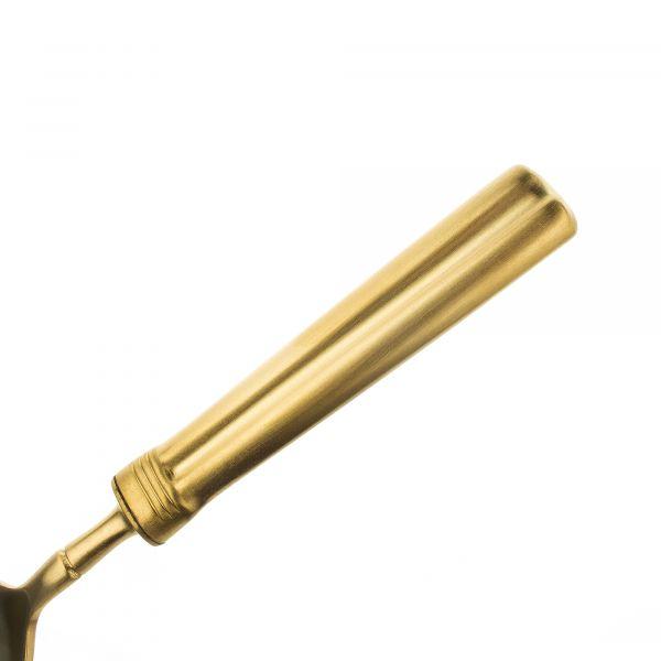 Набор столовых приборов CUTIPOL FONTAINEBLEAU Gold Brushed 24 предмета с матовой позолотой P1A.006 GB