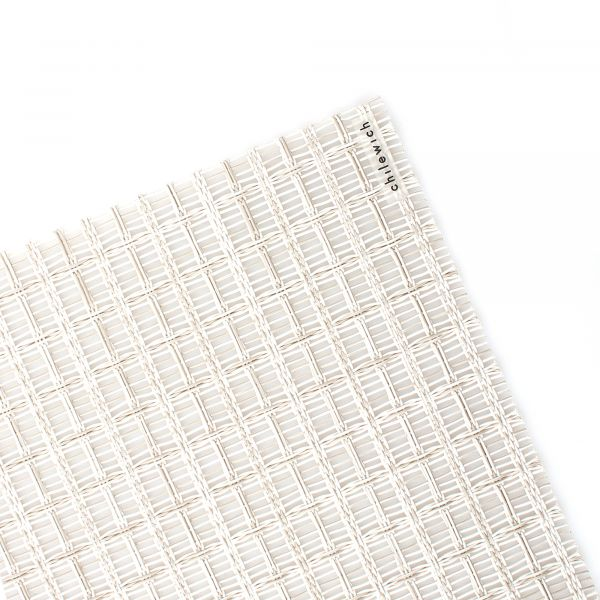 Салфетка подстановочная CHILEWICH Thistle Coconut жаккардовое плетение 36x48 см 100581-002