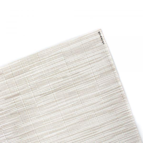 Салфетка подстановочная CHILEWICH Bamboo Coconut жаккардовое плетение 36x48 см 100105-034