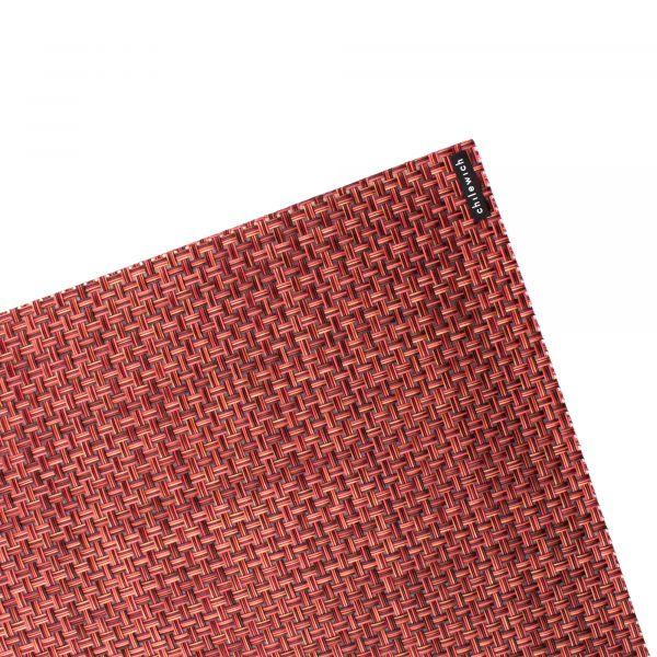 Салфетка подстановочная CHILEWICH Basketweave Pomegranate жаккардовое плетение 36x48 см 100110-047