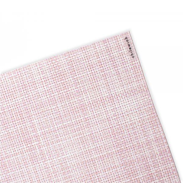 Салфетка подстановочная CHILEWICH Mini Basketweave Blush жаккардовое плетение 36x48 см 100132-033