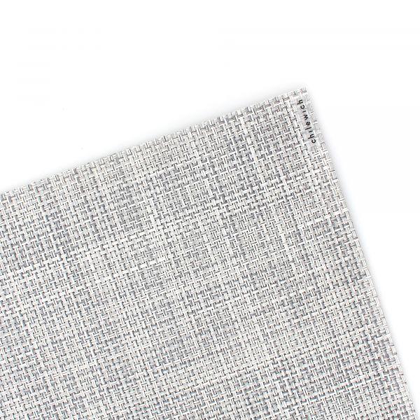 Салфетка подстановочная CHILEWICH Mini Basketweave Mist жаккардовое плетение 36x48 см 100132-034