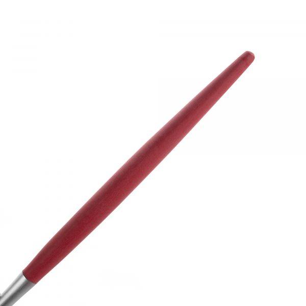 Набор столовых приборов 24 предмета с красными ручками CUTIPOL MIO matte redMI.006 R