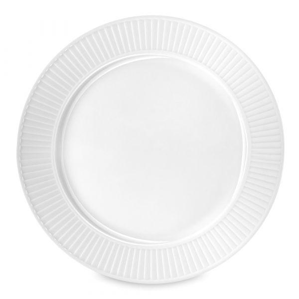 Тарелка подстановочная 31,5 см, белый фарфор, PILLIVUYT Plisse, 214231BL1