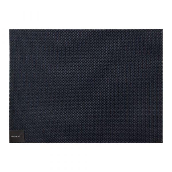 Салфетка подстановочная CHILEWICH Basketweave Navy жаккардовое плетение 36x48 см 100110-046