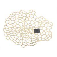 Салфетка подстановочная овальная CHILEWICH Brass, 35,3x45 см, винил 100546-001
