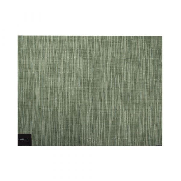 Салфетка подстановочная CHILEWICH Bamboo Spring Green жаккардовое плетение 36x48 см 100105-035