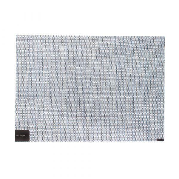 Салфетка подстановочная CHILEWICH Thatch Rain жаккардовое плетение 36x48 см 100579-002