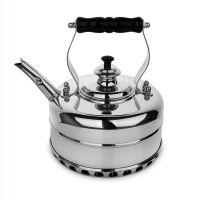 Медный чайник для плиты RICHMOND Heritage эдвардианской ручной работы, с хромированной отделкой 1,7 л RICHMOND NO.4