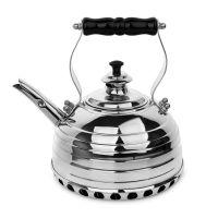 Чайник медный для газовой плиты 1,7 л RICHMOND Beehive эдвардианской ручной работы, с хромированной отделкой RICHMOND NO.11