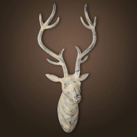 Декор ROOMERS «Голова оленя» 12x12x14 см 4031