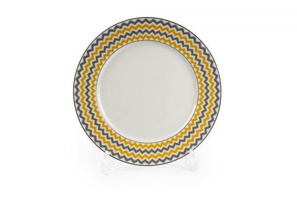 Тарелка Tunisie Porcelaine Огненный Павлин 27 см 5300127 2372