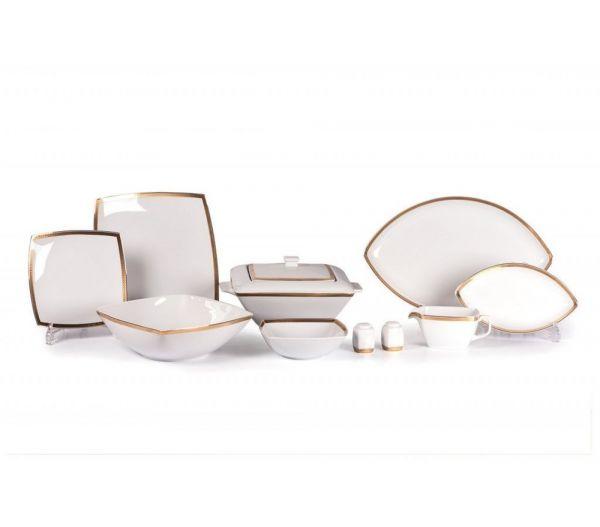 Салатник Tunisie Porcelaine Kyoto 25 см золото 714825 1555