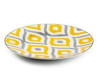 Тарелка десертная Tunisie Porcelaine Огненный Павлин 22 см 5300122 2372