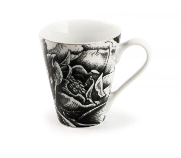 Кружка Tunisie Porcelaine Черный Базилик 300 мл 7307830 2371