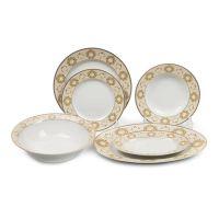 Сервиз столовый Tunisie Porcelaine Riad Or 21 предмет 5309021 1853