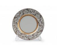 Тарелка Tunisie Porcelaine Mimosa Lierre Or 22 см 539117 947 2
