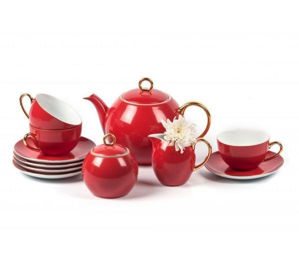 Чайный сервиз Tunisie Porcelaine Monalisa 15 предметов из фарфора 559511 3125