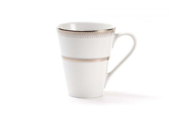 Чашка чайная Tunisie Porcelaine Princier Platine 300 мл 733330 1801