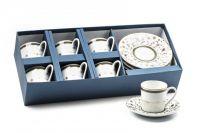 Набор кофейных пар Tunisie Porcelaine на 6 персон 539012 1695