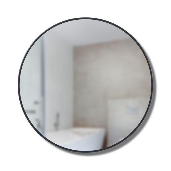 Зеркало настенное cirko d50 см чёрное 1013194-040