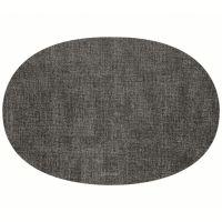 Салфетка подстановочная овальная двухсторонняя fabric темно-серая Guzzini 22604622