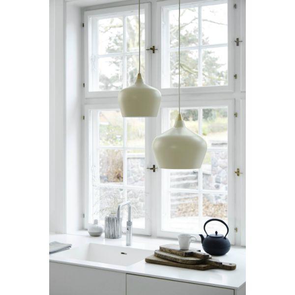 Лампа подвесная cohen large, серо-коричневая матовая, серо-коричневый шнур 1442330184001