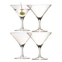 Набор бокалов для мартини Bar 4 шт 180 мл G715-06-301