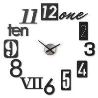 Часы настенные Numbra черные 118430-040